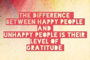 If You Want To Be Happy, Learn To Be Grateful Nancy'S Counseling Corner